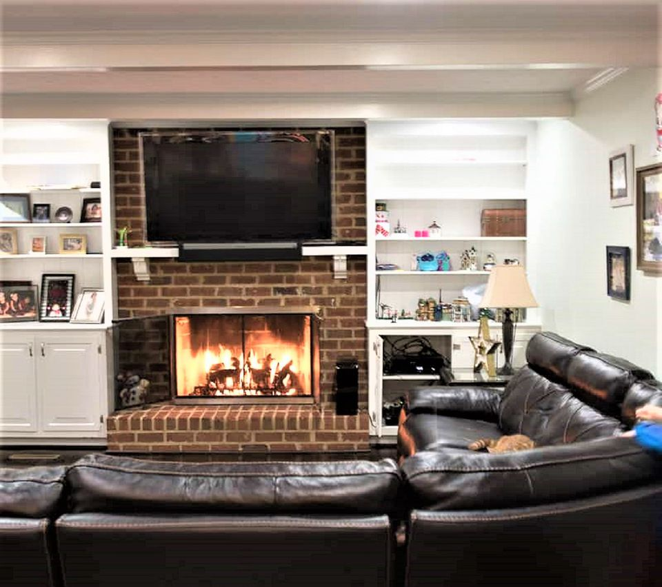 Cozy Family Style Living Room Before Makeover