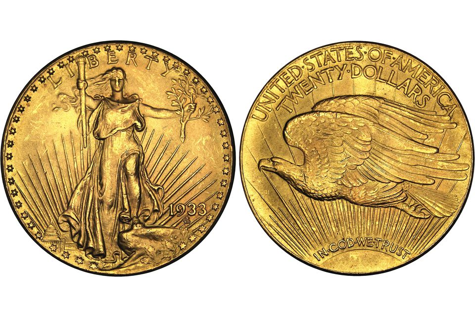 1933 Saint-Gaudens Double Eagle - $20 U.S. Gold Coin
