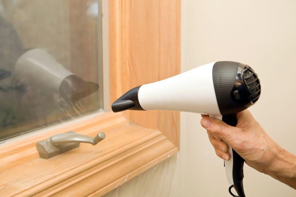 Adding Insulation Film to a Window