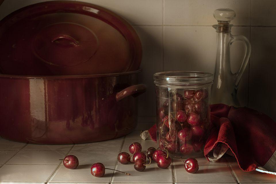 Make Your Own Maraschino Cherries