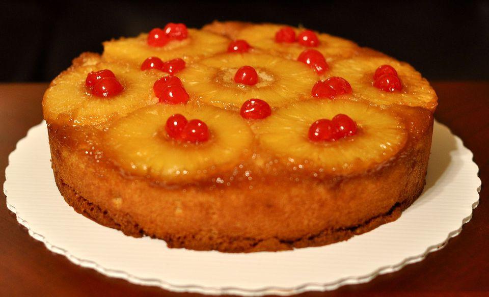 Pineapple delight cake