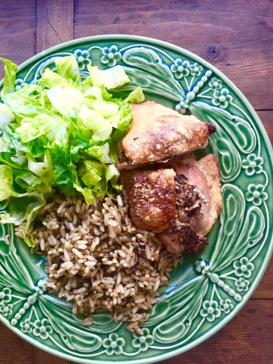 Chicken Thighs Stuffed With Mushrooms