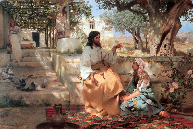 Mary and Martha Bible Story
