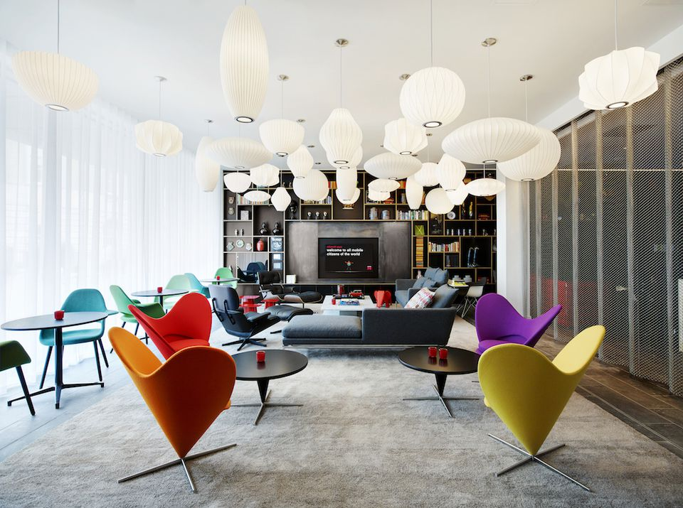 Inside The Eclectic citizenM Tower of London