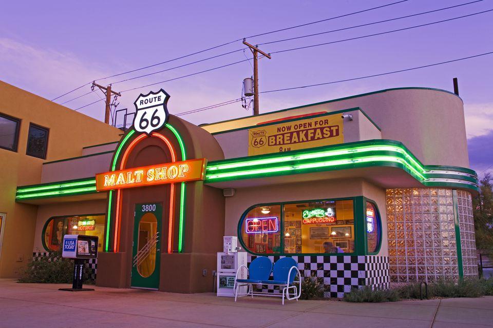 Route 66 Malt Shop