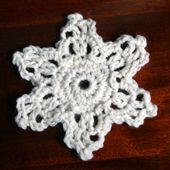 Easy Crochet Snowflake