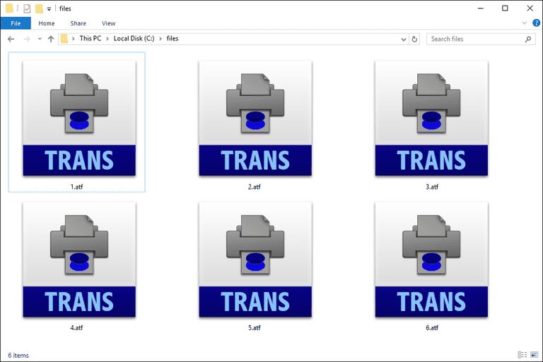 ATF Files