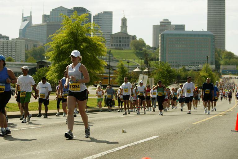 Country Music Half Marathon Walkers