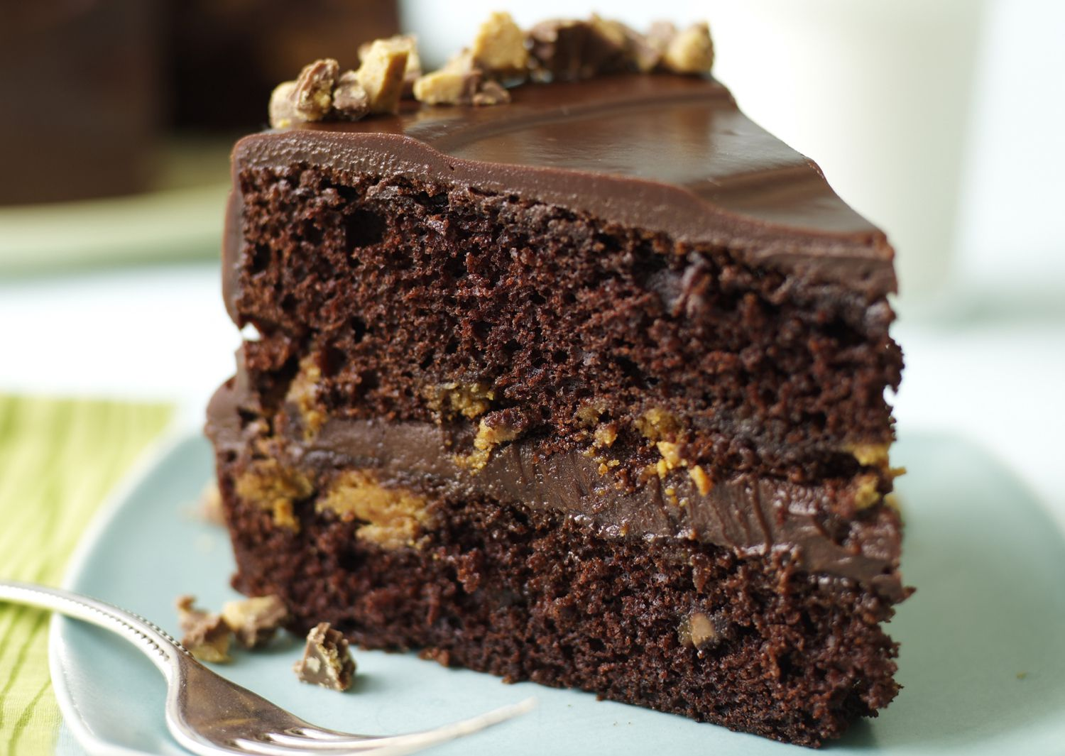 Chocolate Sour Cream Devil's Food Cake Recipe