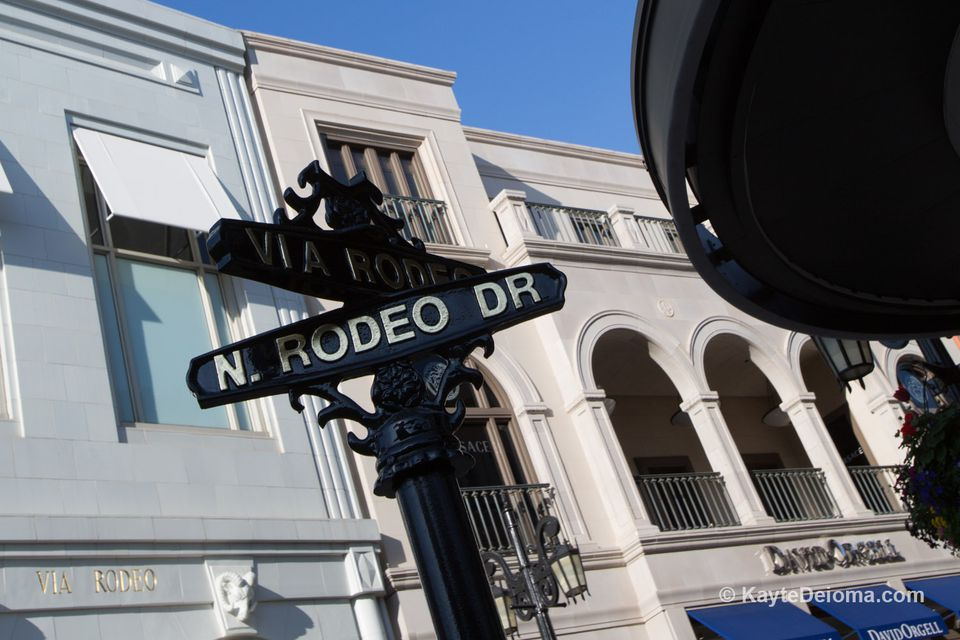Via Rodeo on Rodeo Drive
