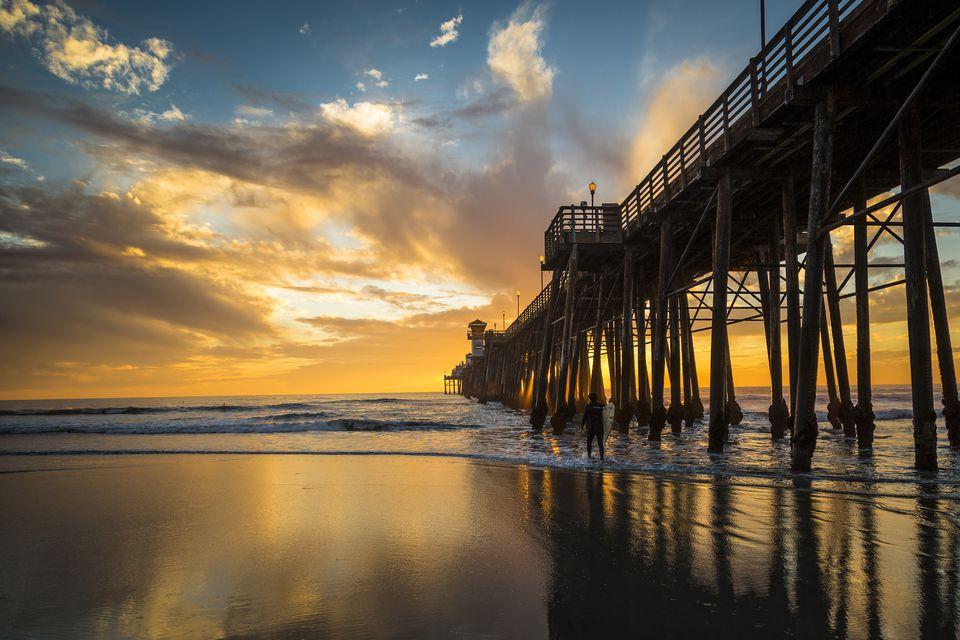 Oceanside Pier in San Diego