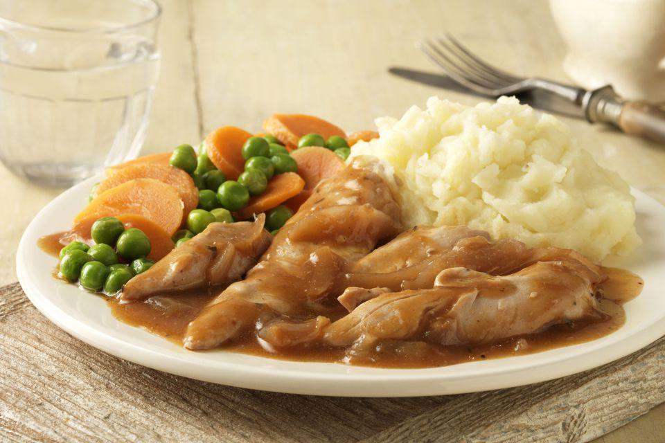 Chicken With Gravy