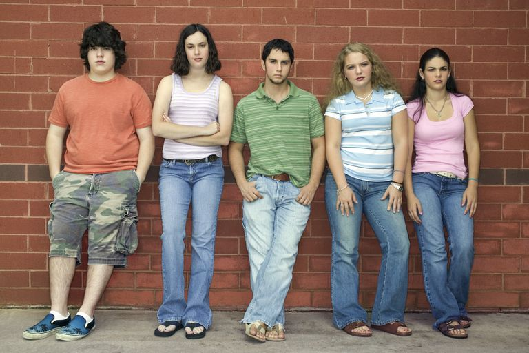 Teens exaggerate the stereotypes associated with cliques.