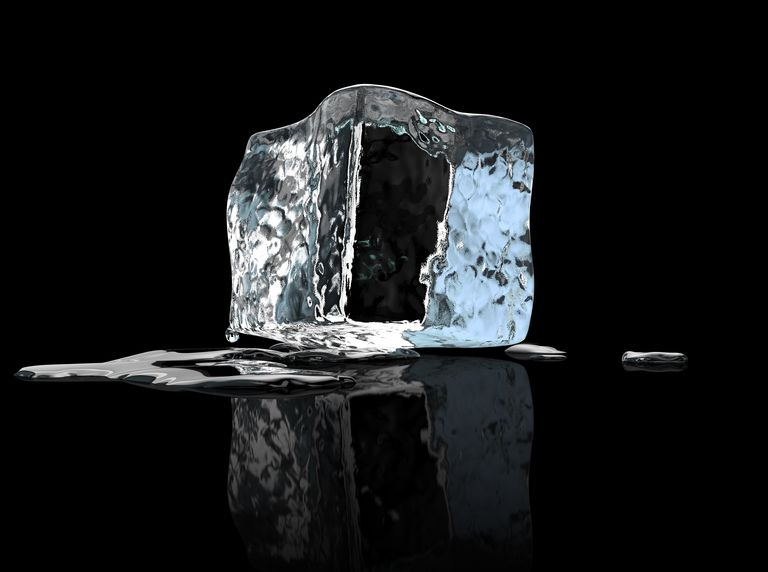 It takes a lot of energy to melt ice into water. The heat of fusion equation can tell you exactly how much energy you need.