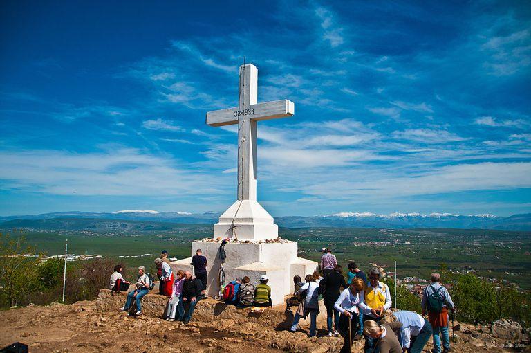 La cruz de Medjugorje