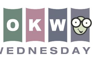 Picture of the Bookworm Wednesday's logo