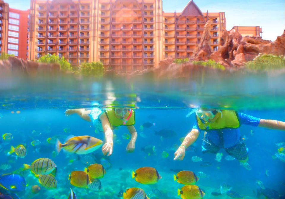 Disney's Aulani Resort and Spa on Oahu, Hawaii