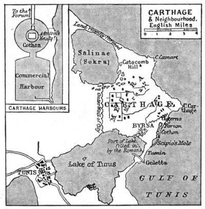 Map of Carthage