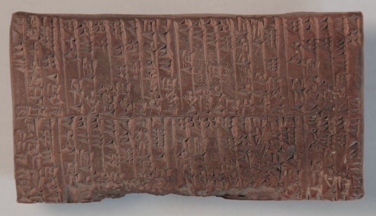 Ur Iii Cuneiform Tablet