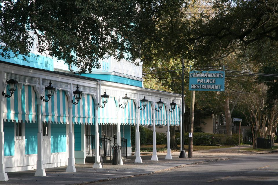 Commander's Palace Restaurant in New Orleans' Garden District