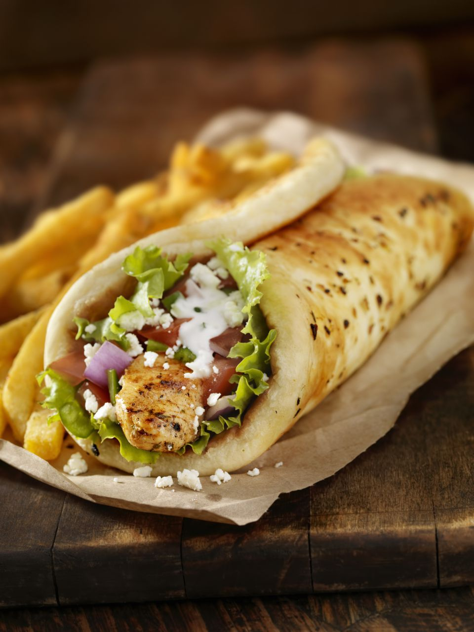 recipe: chicken souvlaki sandwich [10]