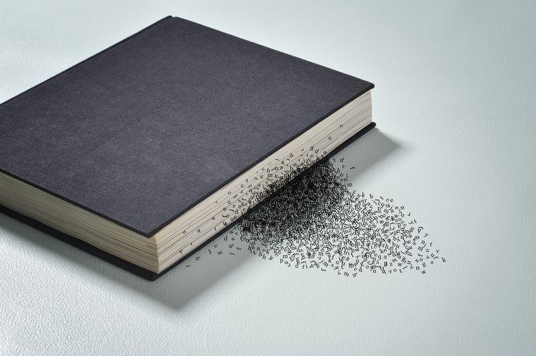 words leaving book