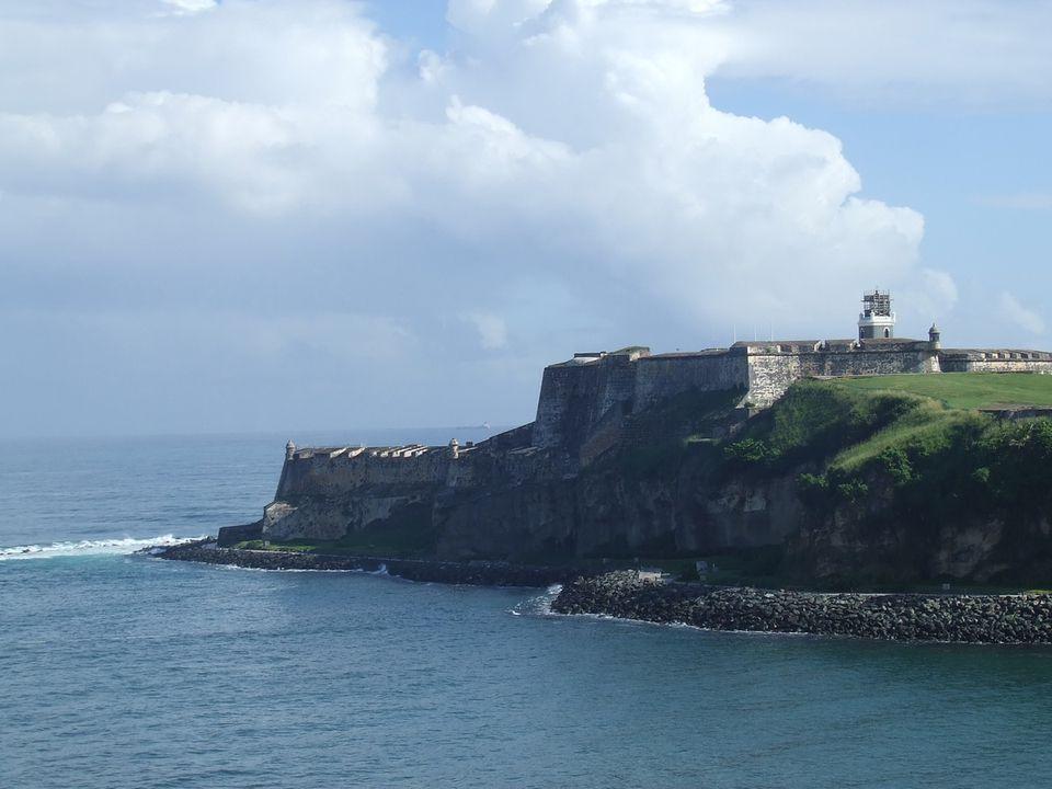 El Morro Fortress in San Juan, Puerto Rico