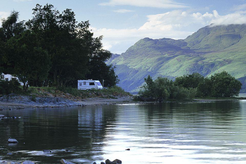 Camping on Loch Lomond