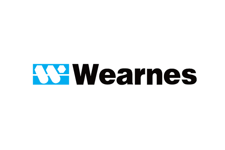 Screenshot of the Wearnes PC website logo