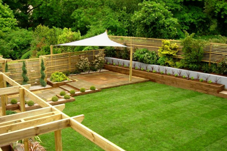 15 Shade Ideas for Your Outdoor Space on Shade Sail Backyard Ideas id=26089