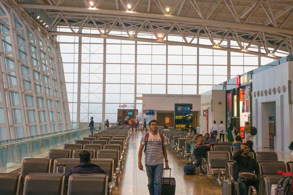 Chennai Airport.
