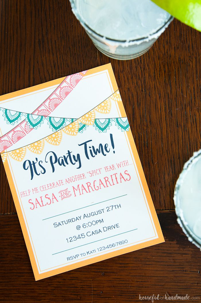 15 Free Printable Birthday Invitations for All Ages – Birthday Party Invitation Email