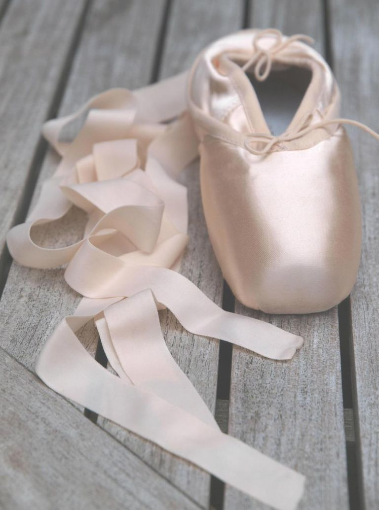 new pair of pointe shoes