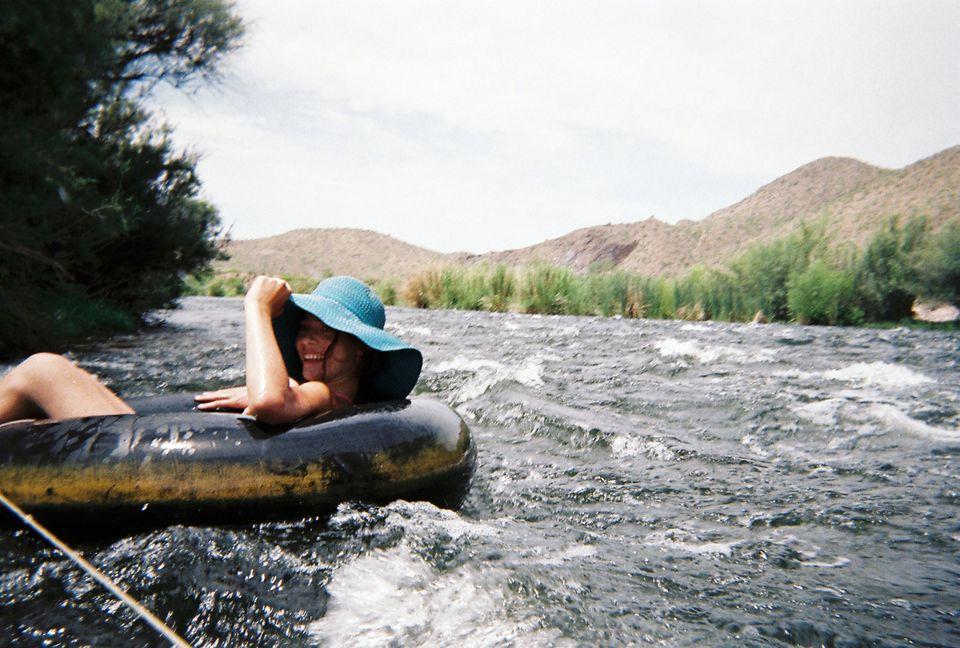 Salt River Tubing in Phoenix