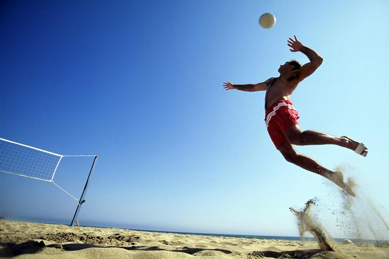 Volleyball Injuries can happen suddenly