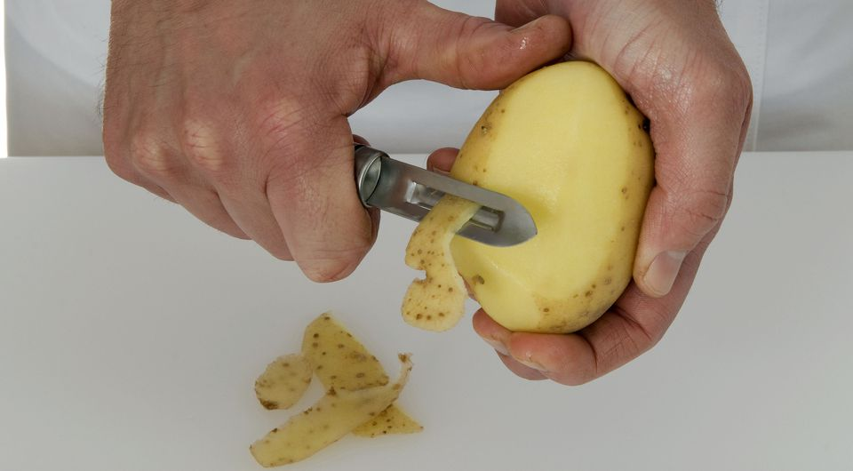 Keeping Potatoes from Turning Gray