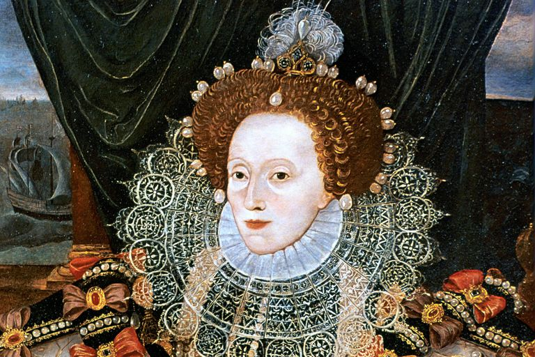 Queen Elizabeth I - from the Armada portrait attributed to George Gower
