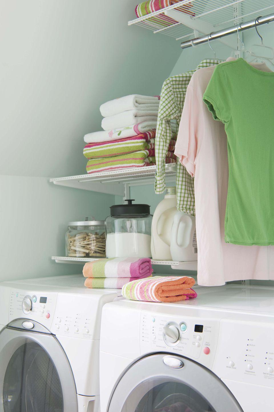 Laundry room storage