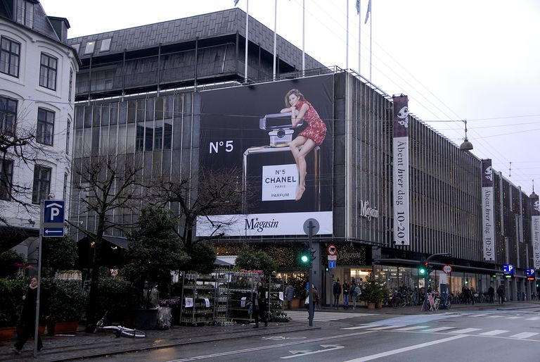 Chanel No. 5 Billboard in Copenhagen, Denmark