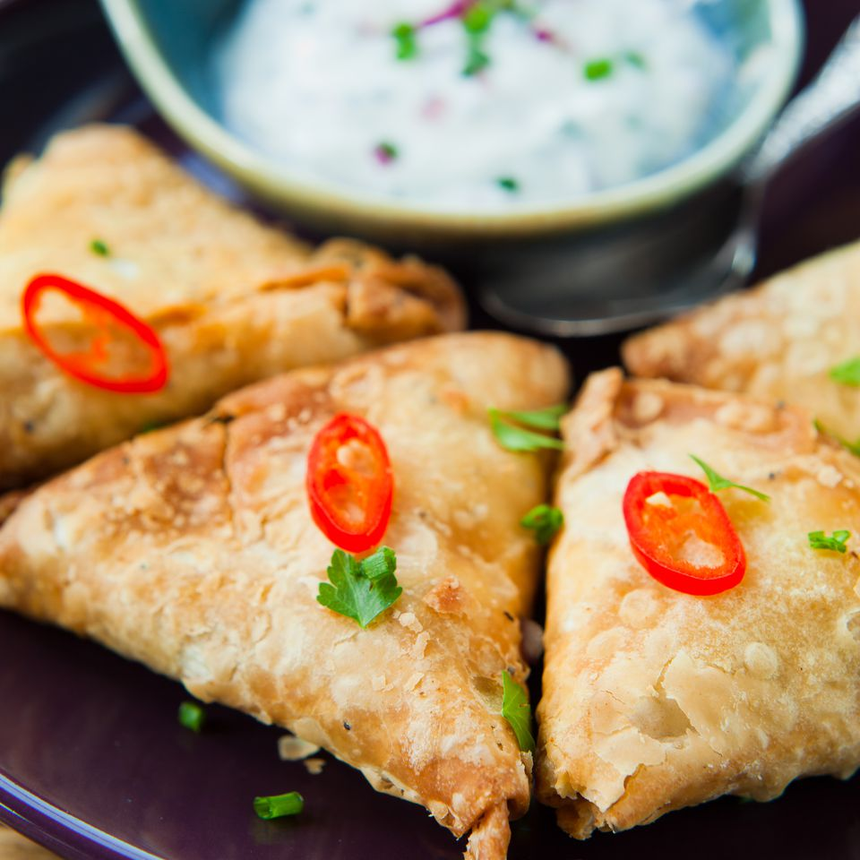 Quick and easy baked vegetarian samosas recipe forumfinder Images
