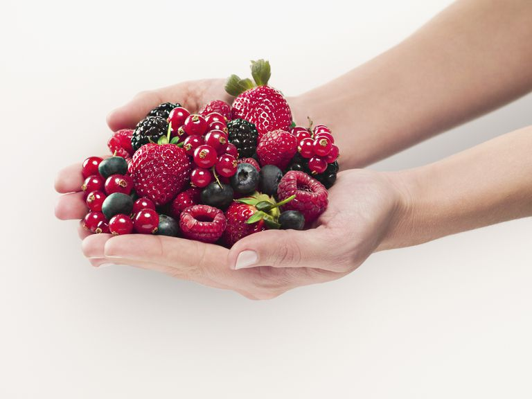 Berries are high in antioxidants.