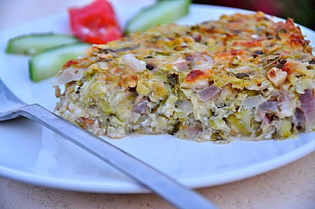 Greek Zucchini Pie Recipe | Kolokithopita