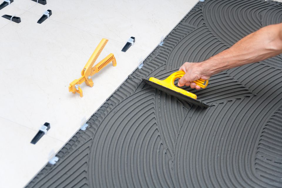 Rubber Grout Float Used For Tiling