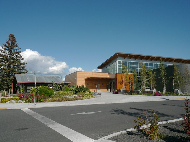 Picture of Morris Thompson Cultural and Visitor Center in Fairbanks Alaska © Angela M. Brown (2010)