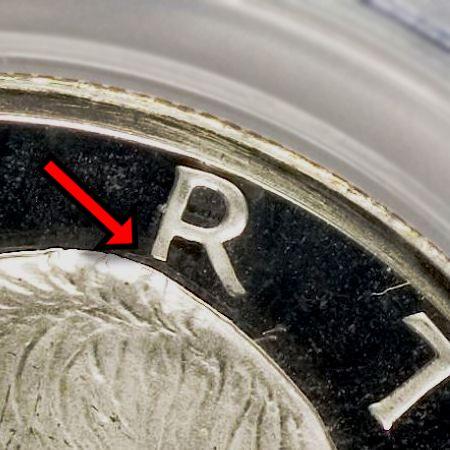 "Eisenhower Dollar 1971-S Proof (Peg Leg ""R"")"