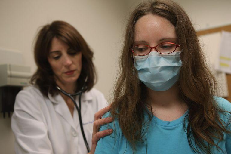 Sick Patient With Flu