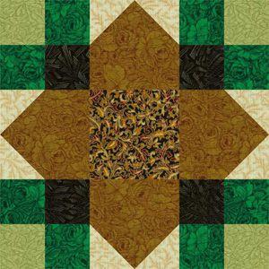 Quilt Block Pattens: Lucky Clover