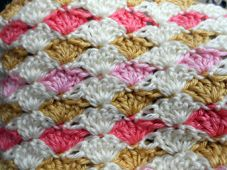 Shell Stitch Crochet Baby Blanket