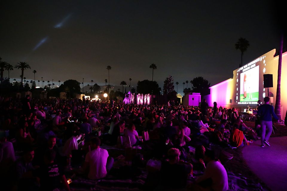Cinespia Presents Summer Screening Of 'Mean Girls' At Hollywood Forever Cemetery