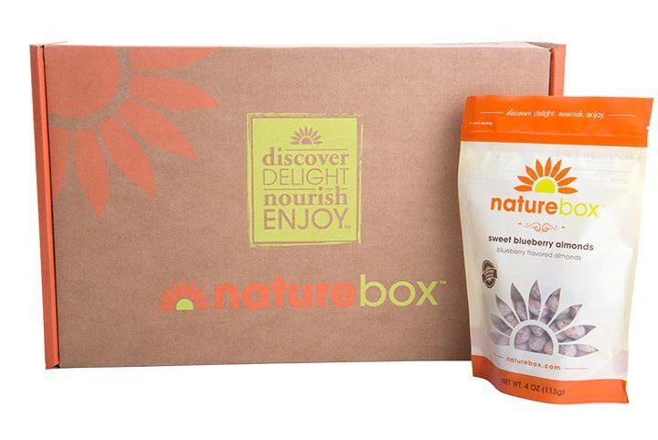 NatureBox box and one treat